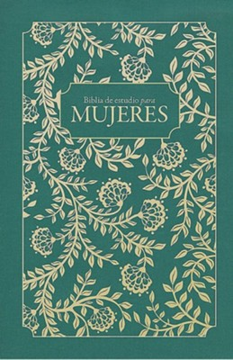 Biblia de estudio para mujeres RVR 1960, verde tapa dura (Study Bible for Women, Green)  -     Edited By: Dorothy Kelley Patterson, Rhonda Harrington Kelley