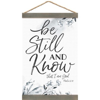 Be Still And Know, Banner  -