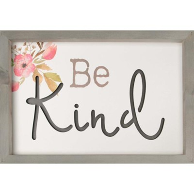 Be Kind Framed, Wall Decor  -