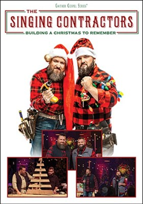 Building a Christmas to Remember, DVD   -     By: The Singing Contractors