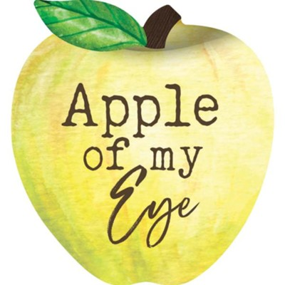 Apple Of My Eye, Apple Shaped Art  -