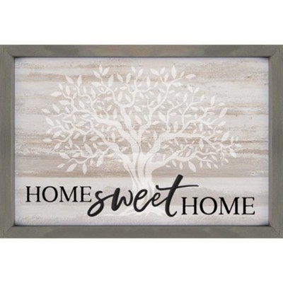 Home Sweet Home Wall Decor.Home Sweet Home Carved Framed Wall Decor