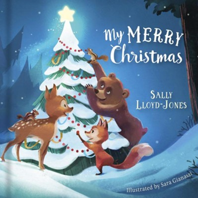 My Merry Christmas - eBook  -     By: Sally Lloyd-Jones     Illustrated By: Angelika Scudamore