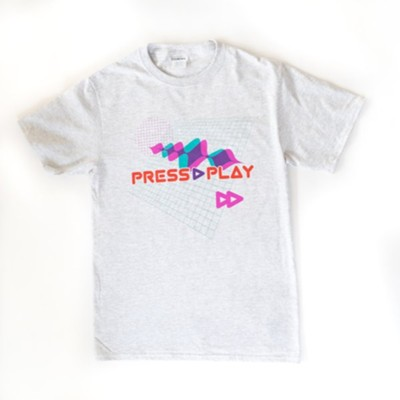 Press Play: Leader T-Shirt, Adult Small  -
