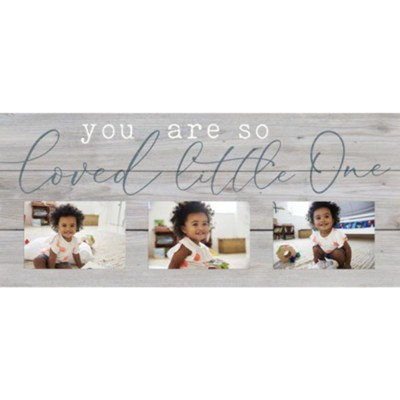 You Are So Loved Little One, Photo Frame  -