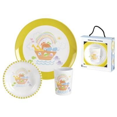Microwave safe dinnerware Noah/'s Ark Dinnerware Personalizied Dinnerware Chidren/'s gift