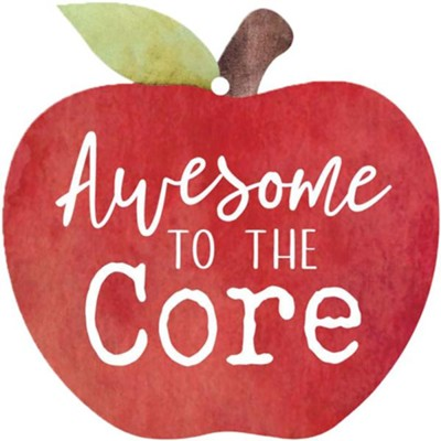 Awesome To The Core, Gift Tag  -