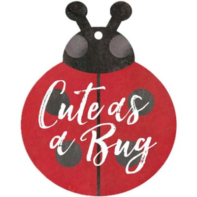 Cute As A Bug, Gift Tag  -