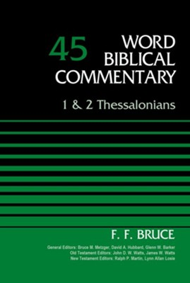 1 and 2 Thessalonians, Volume 45 - eBook  -     By: F.F. Bruce