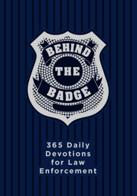 Behind the Badge: 365 Daily Devotions for America's Law Enforcement - eBook  -     By: Adam Davis