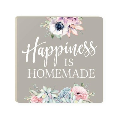 picture regarding Happiness is Homemade identified as Pleasure Is Do-it-yourself Coaster