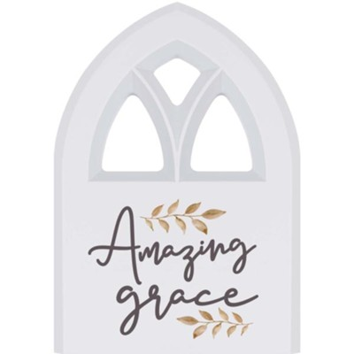 Amazing Grace Plaque, Window  -