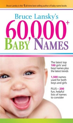 60,000+ Baby Names - eBook  -     By: Bruce Lansky