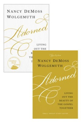 Adorned Book and Study Guide Set / Digital original - eBook  -     By: Nancy DeMoss Wolgemuth