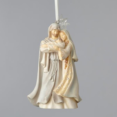 Foundations, Holy Family, Ornament  -     By: Karen Hahn