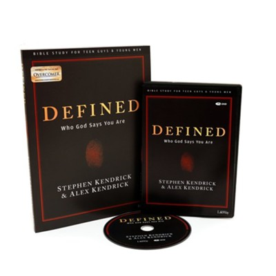 Defined, Teen Guys' Bible Study DVD Leader Kit  -
