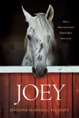 Joey: How a Blind Rescue Horse Helped Others Learn to See - eBook  -     By: Jennifer Bleakley