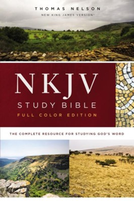NKJV Study Bible, Full-Color, Red Letter Edition, eBook, Comfort Print: The Complete Resource for Studying God's Word - eBook  -