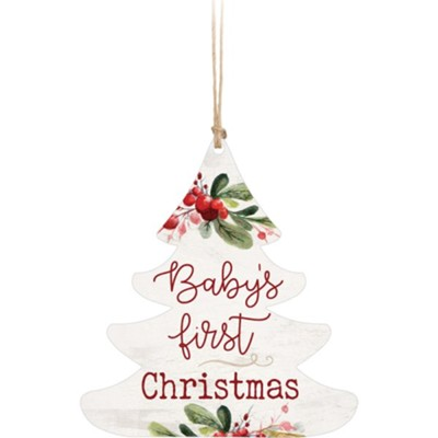 Baby's First Christmas, Tree, Ornament  -