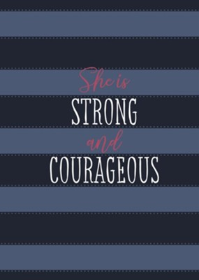 She Is Strong and Courageous: A 90 Day Devotional - eBook  -     By: Ann White