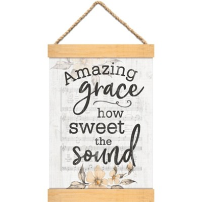 Amazing Grace Hanging Banner  -