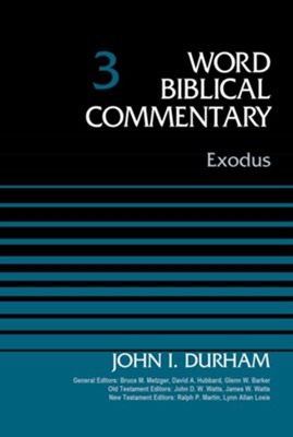 Exodus, Volume 3 - eBook  -     By: John I. Durham