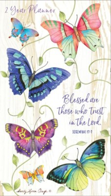 Blessed Are Those Who Trust, 2019-2020 Two-Year Pocket Planner  -