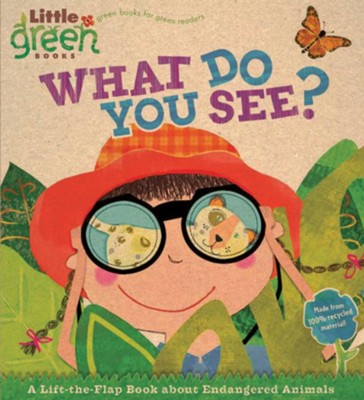 What Do You See? A Lift-the-Flap Book About Endangered Animals  -     By: Stephen Krensky