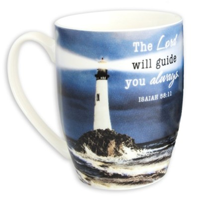 The Lord Will Guide You Always, Mug In Gift Box   -