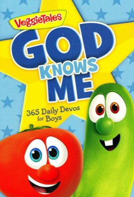 God Knows Me: 365 Daily Devos for Boys  -