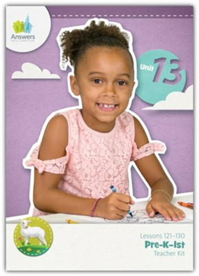 Answers Bible Curriculum PreK-1 Unit 13 Teacher Kit (2nd Edition)  -