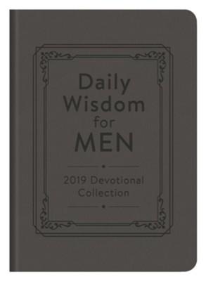 Daily Wisdom for Men 2019 Devotional Collection - eBook  -