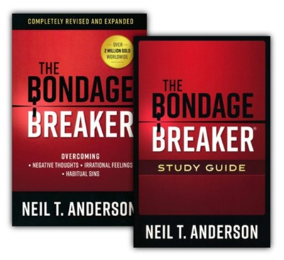 Bondage Breaker Book & Study Guide, revised, 2 Volumes  -     By: Neil T. Anderson