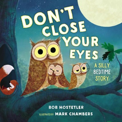 Don't Close Your Eyes: A Silly Bedtime Story - eBook  -     By: Bob Hostetler     Illustrated By: Mark Chambers