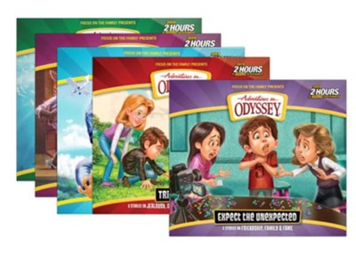 Adventures in Odyssey Audio 5-pack (#62-66)   -