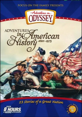 Adventures in Odyssey American History Compilation--23 Stories on 8 CDs  -