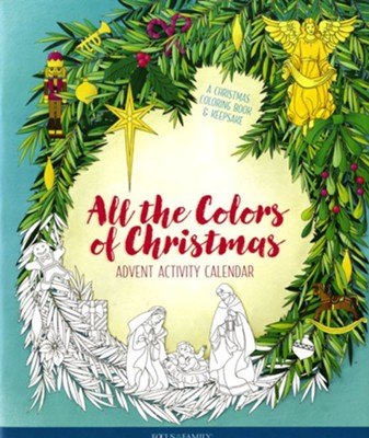 All the Colors of Christmas--Advent Activity Calendar  -