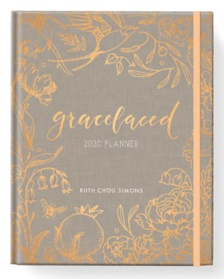 GraceLaced 2020 12-Month Planner   -     By: Ruth Chou Simons