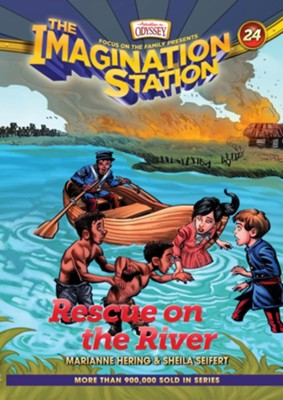 Adventures in Odyssey Imagination Station: Rescue on the River #24  -     By: Marianne Hering, Sheila Seifert