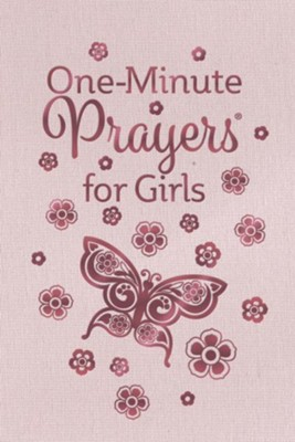One-Minute Prayers for Girls - eBook  -