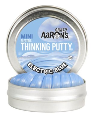 Mini Thinking Putty, Electric Blue  -