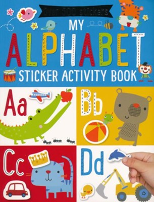 My Alphabet Sticker Activity Book  -