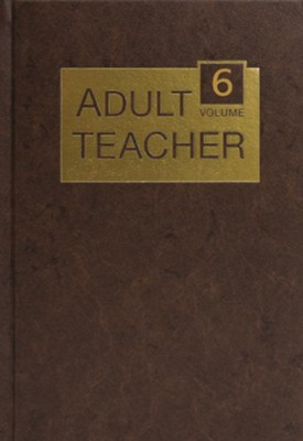 Adult Teacher Volume 6 - eBook  -