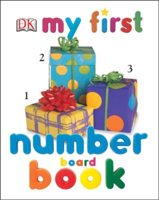 My First Number Board Book  -