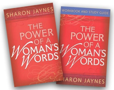 The Power of a Woman's Words--Book and Workbook   -     By: Sharon Jaynes