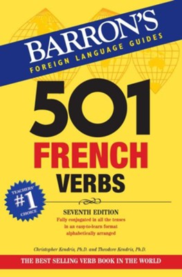 501 French Verbs - eBook  -     By: Christopher Kendris Ph.D., Theodore Kendris Ph.D.