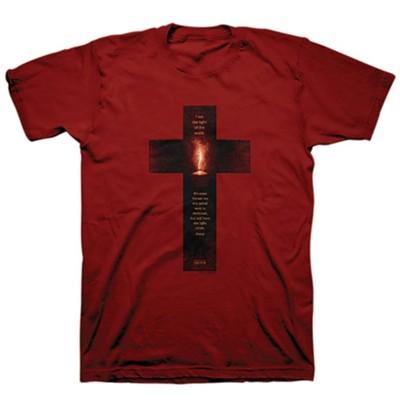 Metro Red M Unisex Knit Shirt