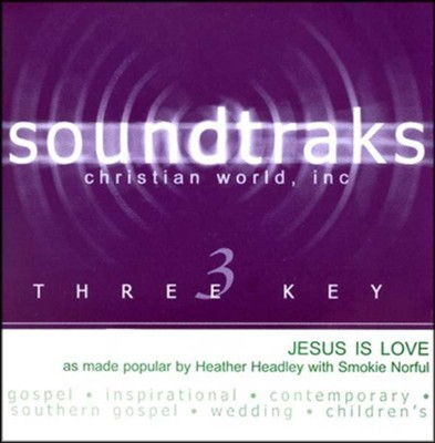 Jesus Is Love, Accompaniment CD   -     By: Heather Headley, Smokie Norful