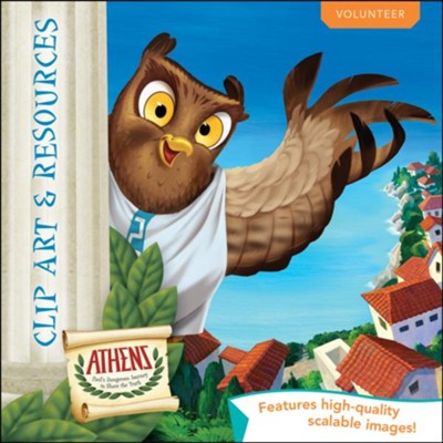Athens: Clip Art & Resources CD  -