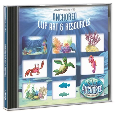 Anchored: Clip Art & Resources CD  -